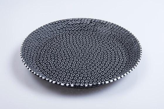 Bouquet Black L by HANDS ON DESIGN | Dinnerware