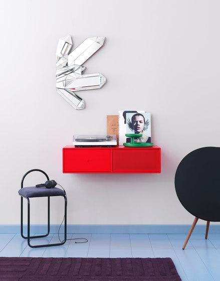 TV & SOUND | Hi-Fi regalsystem – Beispiel mit Aufhängebeschlag von Montana Furniture | Multimedia Sideboards