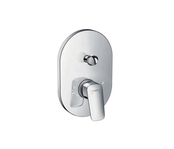 hansgrohe Logis Single lever bath mixer for concealed installation by Hansgrohe   Bath taps