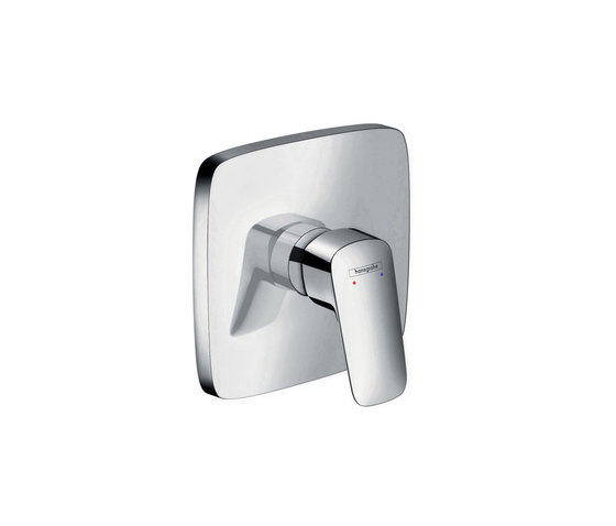 hansgrohe Logis Single lever shower mixer highflow for concealed installation by Hansgrohe | Bath taps