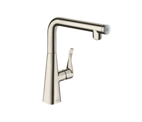 hansgrohe Metris Select Single lever kitchen mixer 260 by Hansgrohe | Kitchen taps