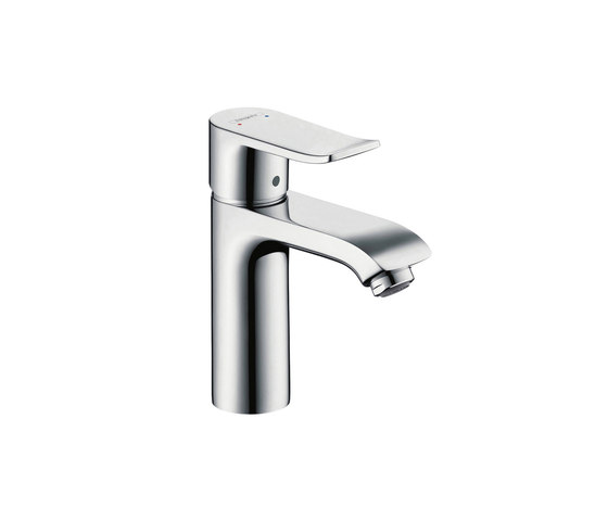 hansgrohe Metris Single lever basin mixer 110 LowFlow 3.5 l/min with pop-up waste set by Hansgrohe | Wash basin taps