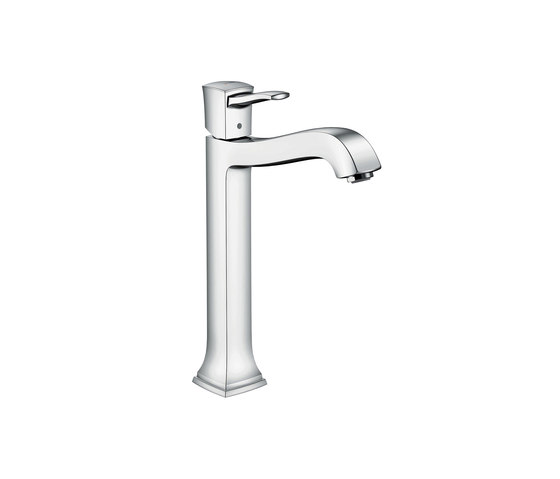 hansgrohe Metropol Classic Single lever basin mixer 260 with lever handle, with pop-up waste set for washbowls by Hansgrohe | Wash basin taps