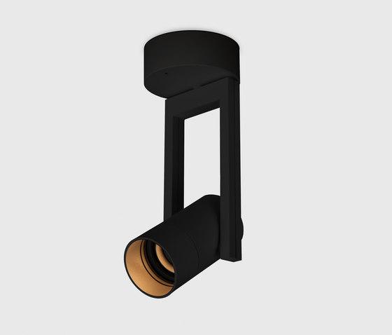 Diapason 80 surface mounted black von Kreon | Wandleuchten