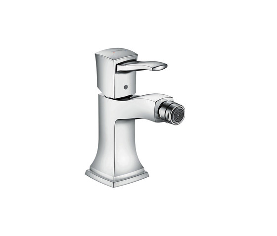 hansgrohe Metropol Classic Single lever bidet mixer with lever handle, with pop-up waste set by Hansgrohe | Bidet taps