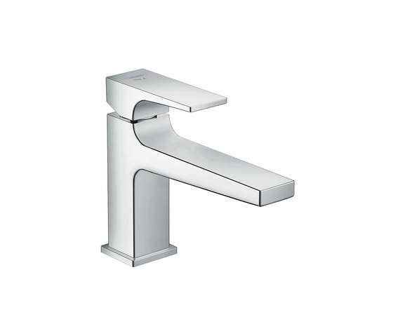 hansgrohe Metropol Single lever basin mixer 100 CoolStart with lever handle and push-open waste set by Hansgrohe | Wash basin taps