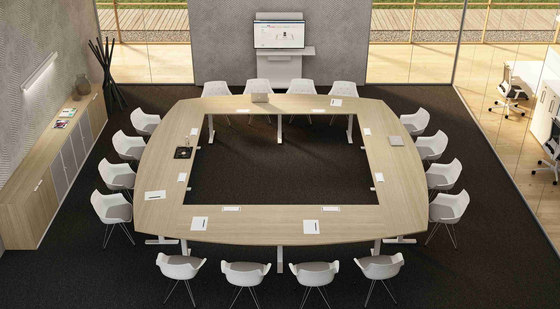 Winglet Meeting by Bralco | Contract tables