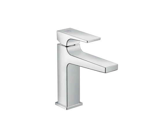 hansgrohe Metropol Single lever basin mixer 110 CoolStart with lever handle and push-open waste set by Hansgrohe | Wash basin taps