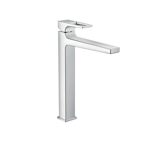 hansgrohe Metropol Single lever basin mixer 260 with loop handle and push-open waste set for washbowls by Hansgrohe   Wash basin taps
