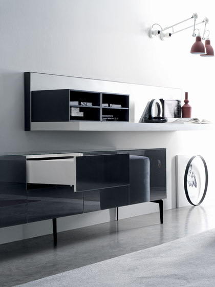 Cover Glass 208 by Silenia | Sideboards
