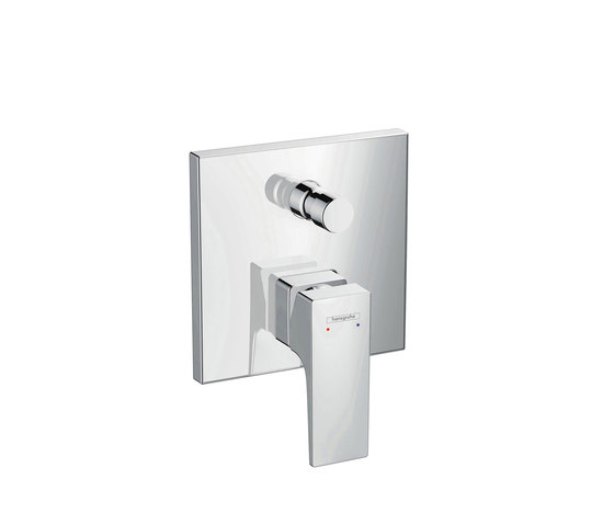 hansgrohe Metropol Single lever bath mixer with lever handle for concealed installation by Hansgrohe | Bath taps