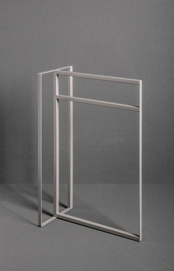 Type Freestanding Towel Rack by MAKRO   Towel rails