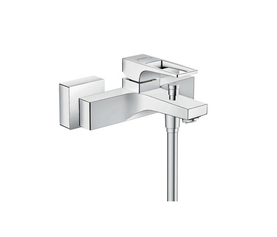 hansgrohe Metropol Single lever bath mixer with loop handle for exposed installation by Hansgrohe | Bath taps