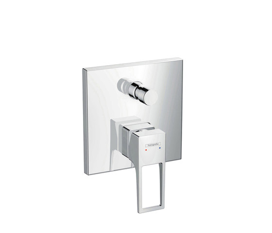 hansgrohe Metropol Single lever bath mixer with loop handle for concealed installation with security combination by Hansgrohe | Bath taps