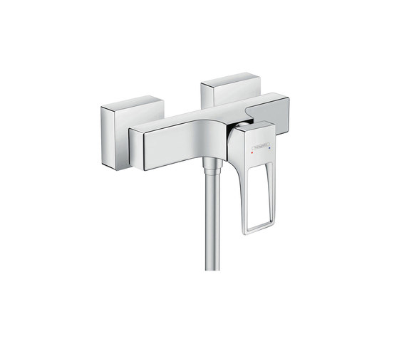 hansgrohe Metropol Single lever shower mixer with loop handle for exposed installation by Hansgrohe   Shower controls