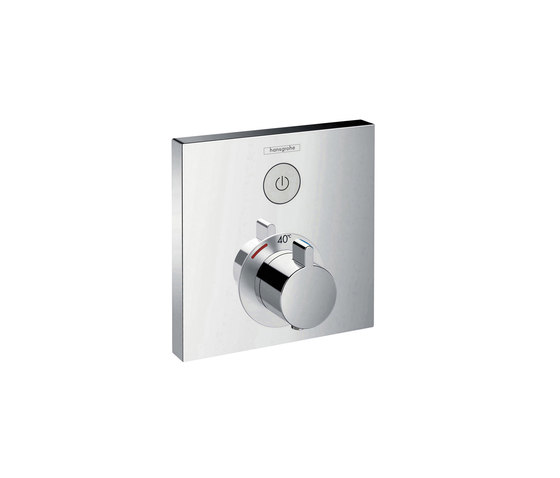 hansgrohe ShowerSelect Thermostatic mixer for concealed installation for 1 function by Hansgrohe | Shower controls