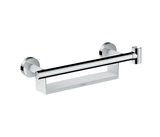 hansgrohe Grab bar Comfort with shelf and shower holder by Hansgrohe | Bath shelves