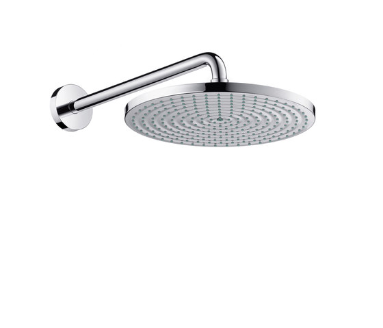 hansgrohe Raindance S 300 Air 1jet overhead shower with shower arm 390 mm EcoSmart 9 l/min by Hansgrohe | Shower controls