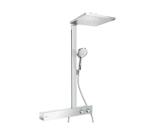 hansgrohe Raindance E 300 1jet Showerpipe 600 ST EcoSmart 9 l/min by Hansgrohe | Shower controls
