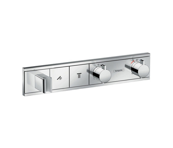 hansgrohe RainSelect Finish set for concealed installation for 2 functions by Hansgrohe | Shower controls
