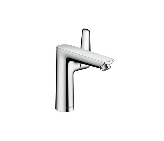 hansgrohe Talis E Single lever basin mixer 150 without waste set by Hansgrohe | Wash basin taps