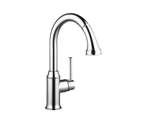 hansgrohe Talis Classic Single lever kitchen mixer with pull-out spray by Hansgrohe | Kitchen taps