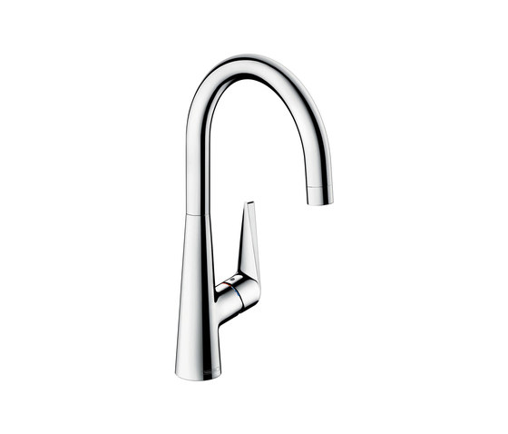 hansgrohe Talis S Single lever kitchen mixer 260 for vented hot water cylinders by Hansgrohe | Kitchen taps