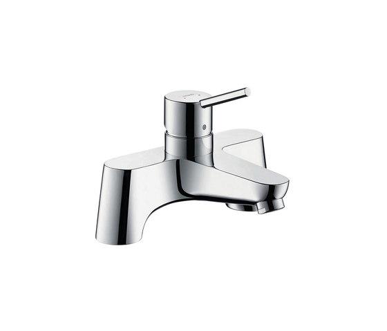 hansgrohe Talis 2-hole rim mounted bath mixer by Hansgrohe | Bath taps