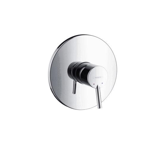 hansgrohe Talis Mezclador monomando de ducha empotrado de gran caudal de Hansgrohe | Grifería para duchas