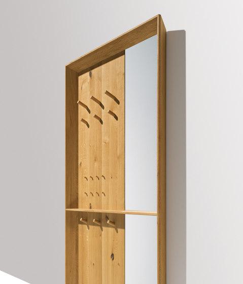 haiku wall panel by TEAM 7 | Coat racks