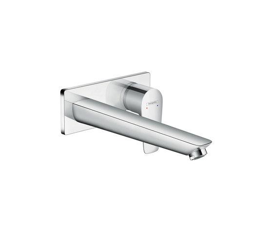 hansgrohe Talis E Mezclador monomando de lavabo empotrado caño 225mm de Hansgrohe | Grifería para lavabos