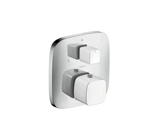 hansgrohe Thermostatic mixer for concealed installation with shut-off/ diverter valve by Hansgrohe | Shower controls