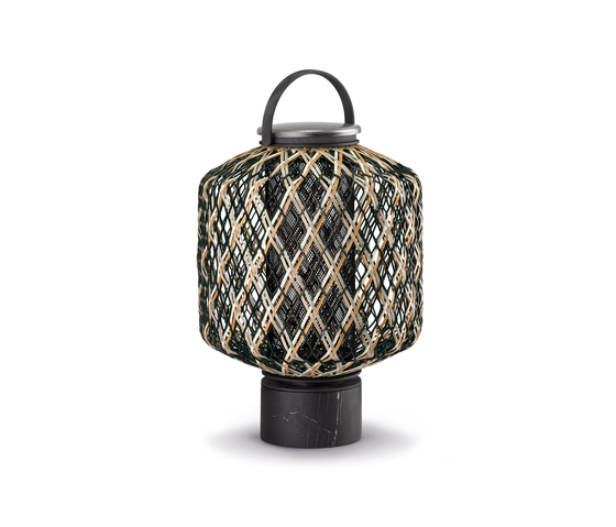 The Others Lantern M by DEDON | Outdoor floor lights
