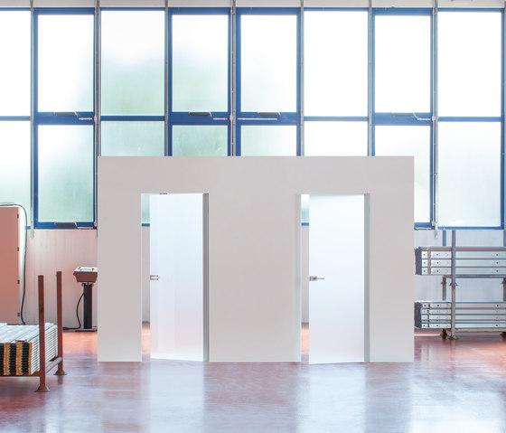 Syntesis® Line Battente Glass de Eclisse | Portes intérieures