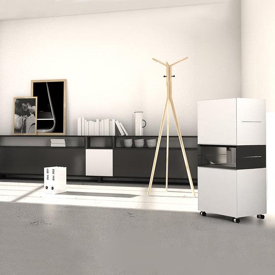 Masterbox® Design Lowboard on base, 1.5 FH by Inwerk   Sideboards