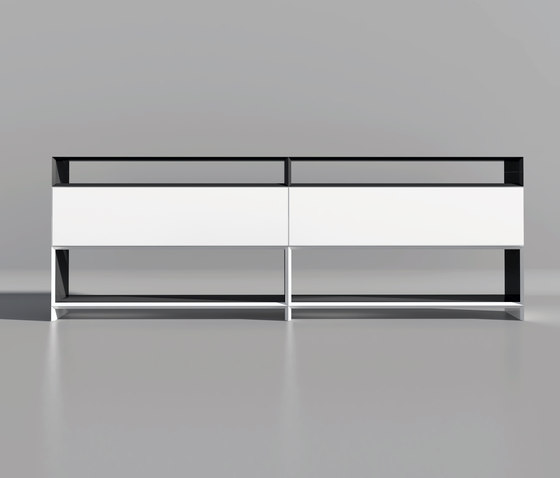 Masterbox® Design Sideboard with flap by Inwerk | Shelving