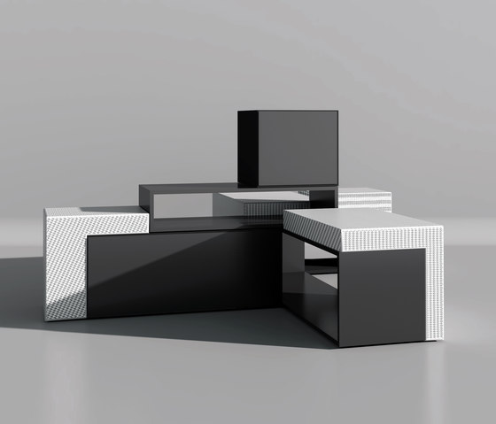 Designer sideboard with flap Masterbox® 2,5OH by Inwerk | Sideboards