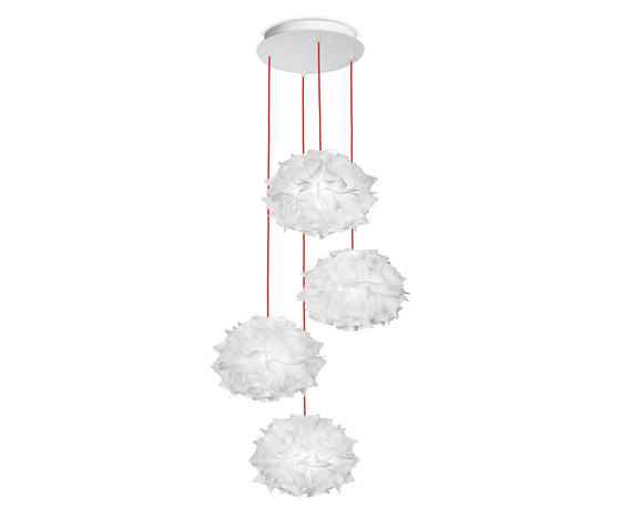 Veli Mini Quartet Couture by Slamp | Suspended lights