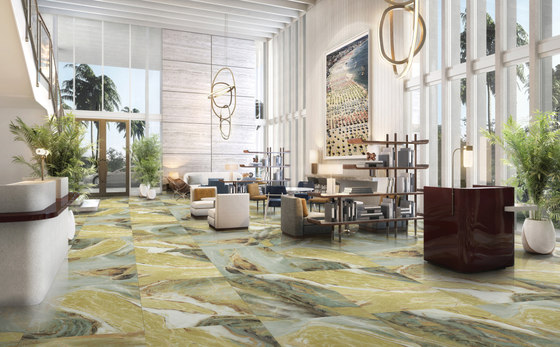 Featuring Wall | Connemara by Gani Marble Tiles | Natural stone panels