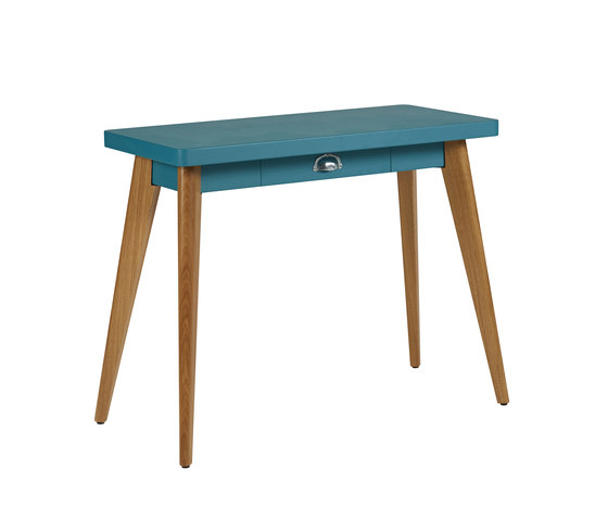 55 drawer console wood legs by Tolix | Console tables