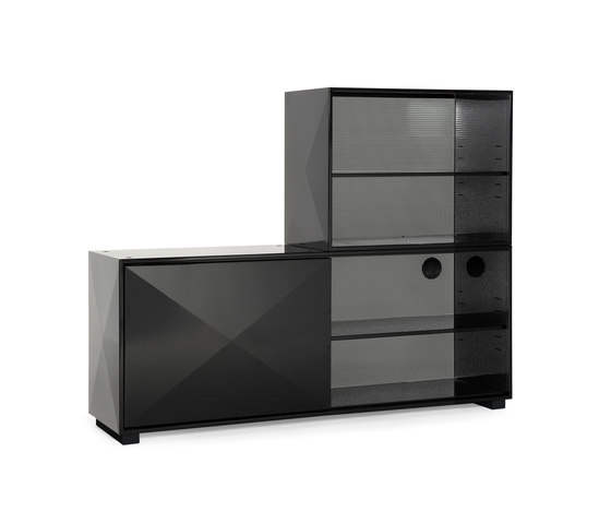 Diamant chest & shelves di Tolix | Credenze multimediali