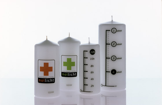 Time fuse   Emergency light by Freiraum   Candlesticks / Candleholder