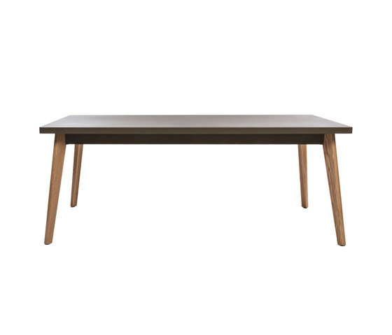 55 table Oak legs - 190 by Tolix | Dining tables