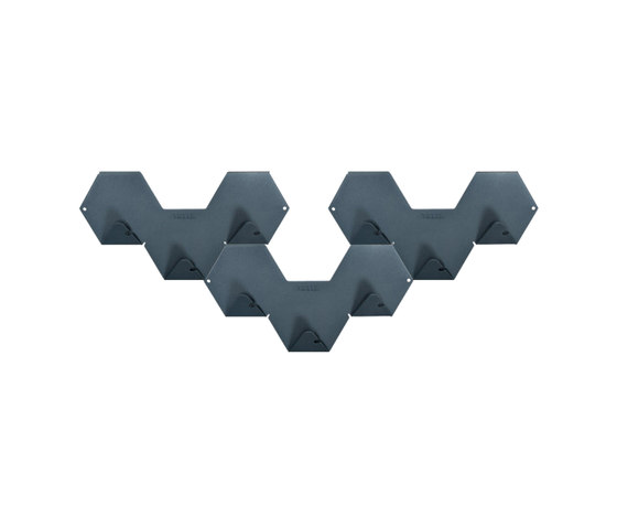 Simplex peg by Tolix   Hook rails