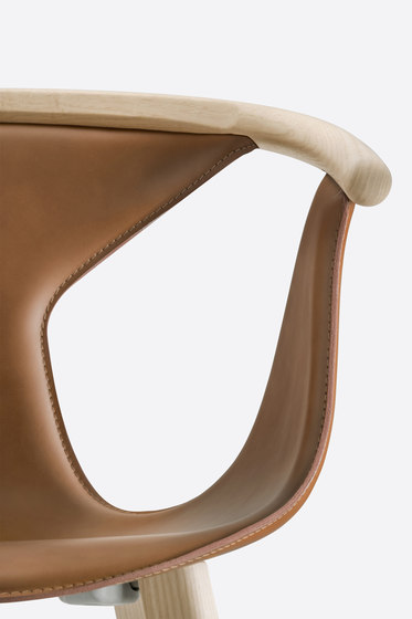 Fox Soft armchair 3727 by PEDRALI | Chairs