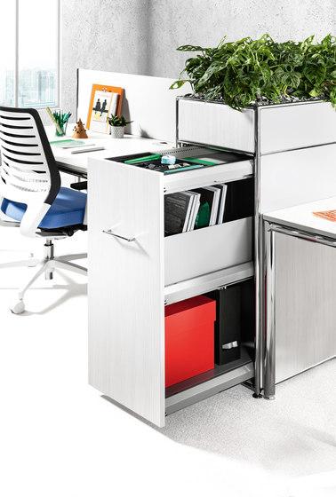 S-Desk Bench von Bosse   Objekttische