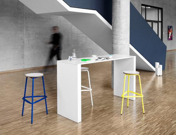 WORK Bar table di Müller Möbelfabrikation | Tavoli alti