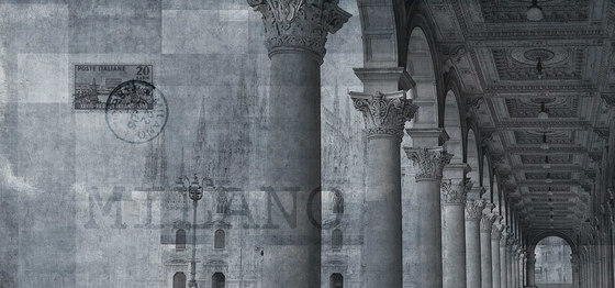 milano | piazza by N.O.W. Edizioni | Wall art / Murals