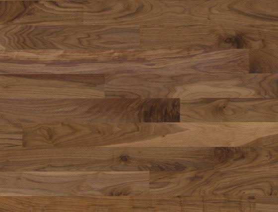 Cleverpark Walnut american 34 by Bauwerk Parkett | Wood flooring