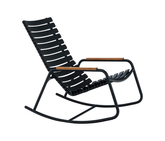 CLIPS | Rocking chair with bamboo armrests von HOUE | Sessel